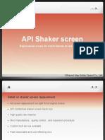 Shaker Screen Replacement