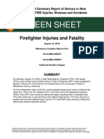 CA-MEU-009504 Firefighter Injuries and Fatality