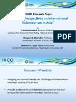 IVCO 2010 Emerging Perspectives FORUM Slides
