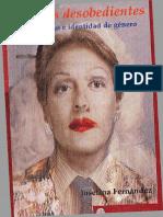 Cuerpos Desobedientes_travestismo e Identidad de Género