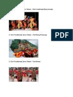 Tari Tradisional Jawa Timur