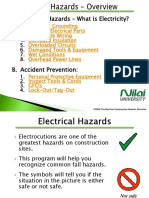 Chapter 1a - OSHA Electricity Safety