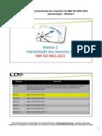 ISO 9001.2015 Modulo 2