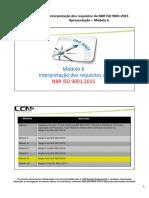 ISO 9001.2015 Modulo 6