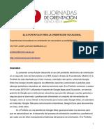 El e Portafolio Para La Orientacion Vocacional Victor Jose Cuevas Barbadillo