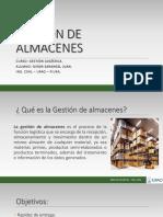 GESTIÓN DE ALMACENES