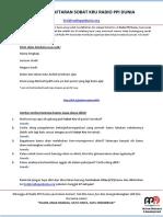 Form Aplikasi Sobat Kru RPD