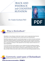 Biofeedback Neurofeedback and Cognitive Rehab
