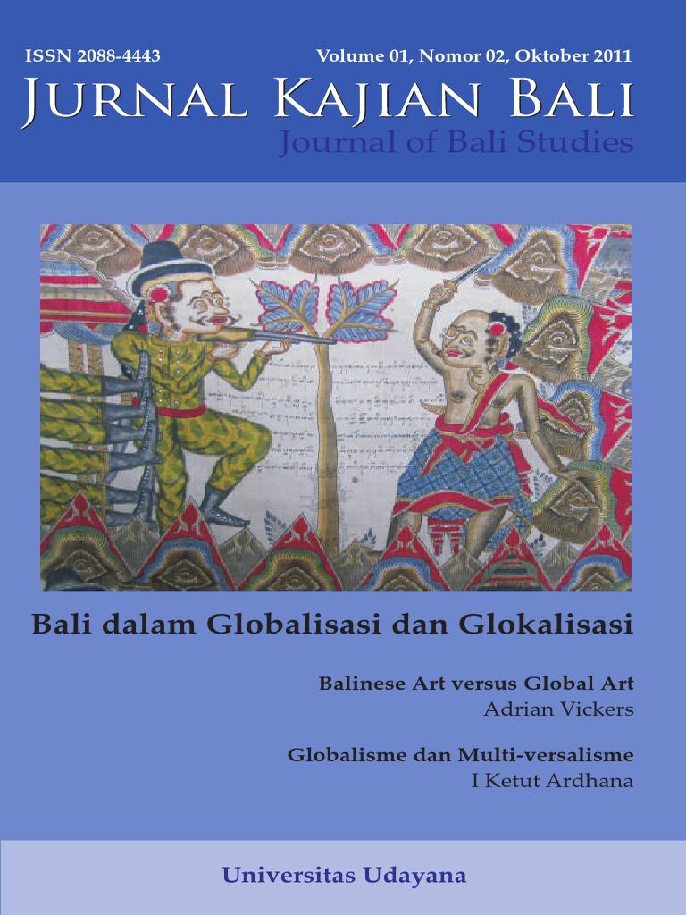 Jurnal Kajian Bali Oktober 2011 Online