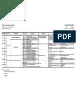 De JOYA Villanueva Residence Schedule of Construction Actual