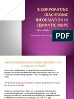 Incorporating Diachronic Information in Semantic Maps