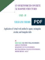 Yield Line Theory