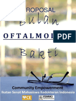 Grand Proposal Bulan Bakti Oftalmologi 2015
