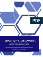 Open API Framework Hong Kong HKMA Analysis