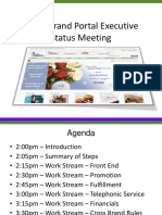 Multi Branded Work Stream Summary Presentation 11-24