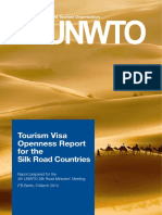 2014 Tourism Visa Openness Report for Silk Road Countries 2nd Prinitng May2014