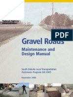 Gravel Roads Maintenance and Design Manual