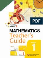 Teacher Guide - Pelangi Focus Smart Plus Maths M1