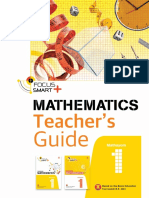 Teacher Guide - Pelangi Focus Smart Plus Maths M1