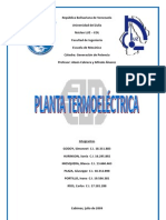 Planta Termoeléctrica de 80 MW