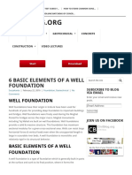 6 Basic Elements of a Well Foundation - Civilblog.org
