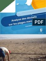 Analyse Des Dechets Sur Les Plages Au Maroc Zero Zbel 13 Sept 2019