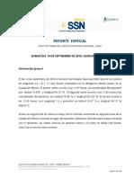 SISMOS DEL 14 DE SEPTIEMBRE DE 2018, CUENCA DE MÉXICO