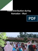 Food Distribution During Ramadan - Iftari