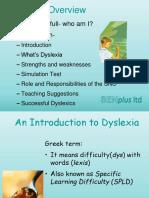 Introduction to Dyslexia Ppt SENplushgf