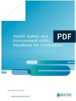 Contractor Health Safety Environment Handbook
