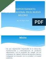 EL COMPORTAMIENTO ORGANIZACIONAL EN EL NUEVO MILENIO