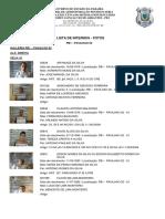 Lista de Foragidos Do PB1