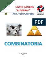 Algebra 1 Combinatoria