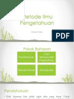 Metode Ilmu Pengetahuan.pptx
