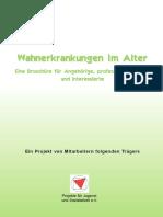 Projekteverein Broschuere Wahnerkrankungen Im Alter