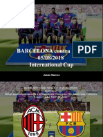 Jesús Sarcos - BARCELONA Contra MILÁN, 05-08-2018, International Cup