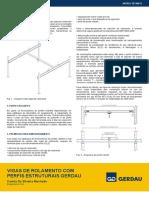 Vigas de Rolamento - Gerdau.pdf