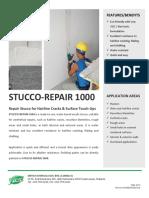 PDS Stucco Repair 1000 - V1