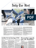 The Daily Tar Heel for October 7, 2010