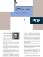 Thoreau Walden Civil