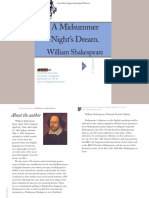 Shakespeare Amid Summer Night Dream