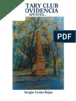Historia del Rotary Club Providencia - Tomo 1