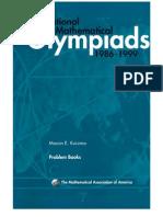 Marcin E. Kuczma - International Mathematical Olympiads 1986-1999
