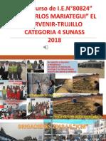 Sosteniblidad de Agua en La IE JCM 2014-2018