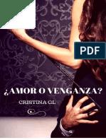 _Amor o Venganza_ - Cristina GL