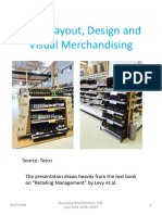 Session - Store Layout, Design