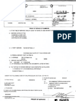 05-RIC482762 Proof of Service Ken Peters 2007-10-30