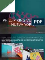 Luis Benshimol - Phillip King Vuelve a Nueva York