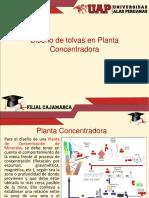 2.0 Diseño de Tolvas en Planta Concentradora