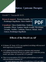 Atrial Fibrillation Upstream Therapies
